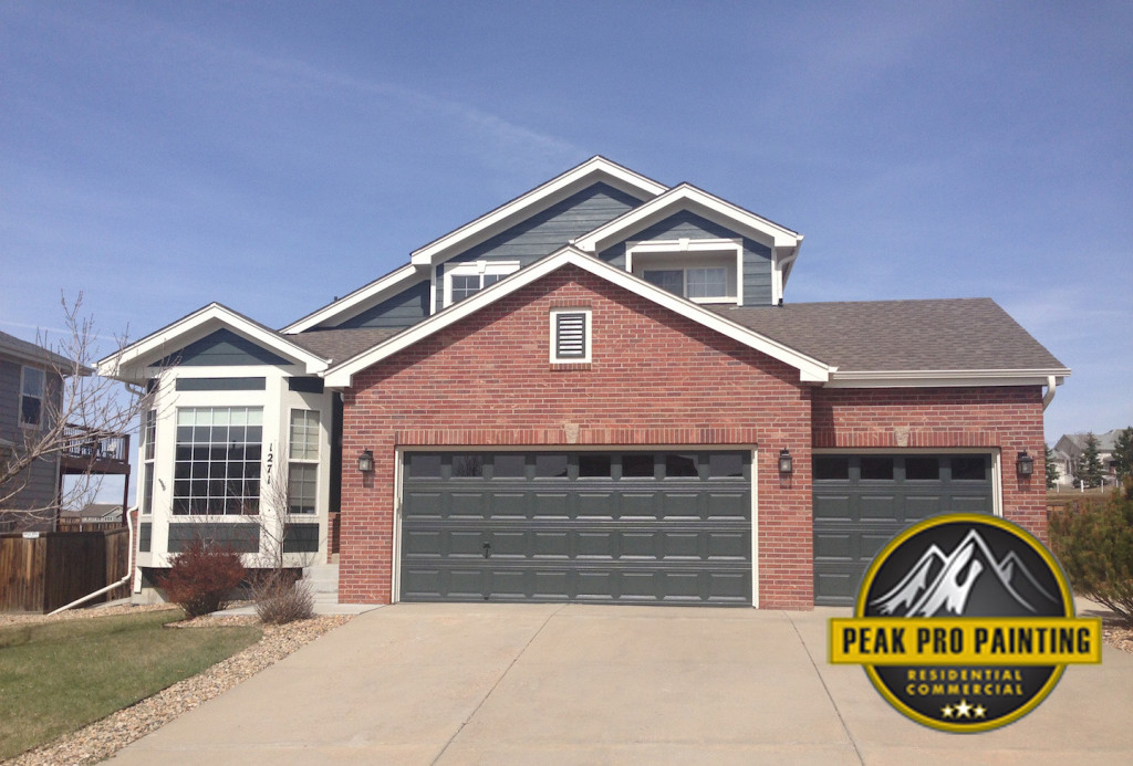 Erie, Colorado Residential Painting Job