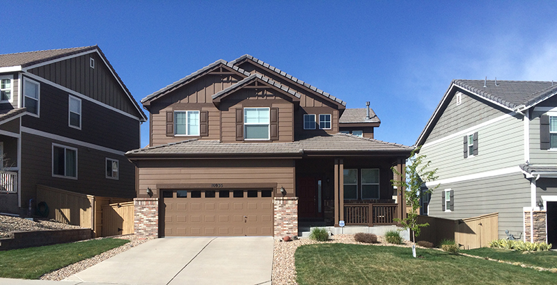 Highlands Ranch House Painting by Peak Pro Painting