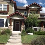 Painted house in Stapleton, CO by Peak Pro