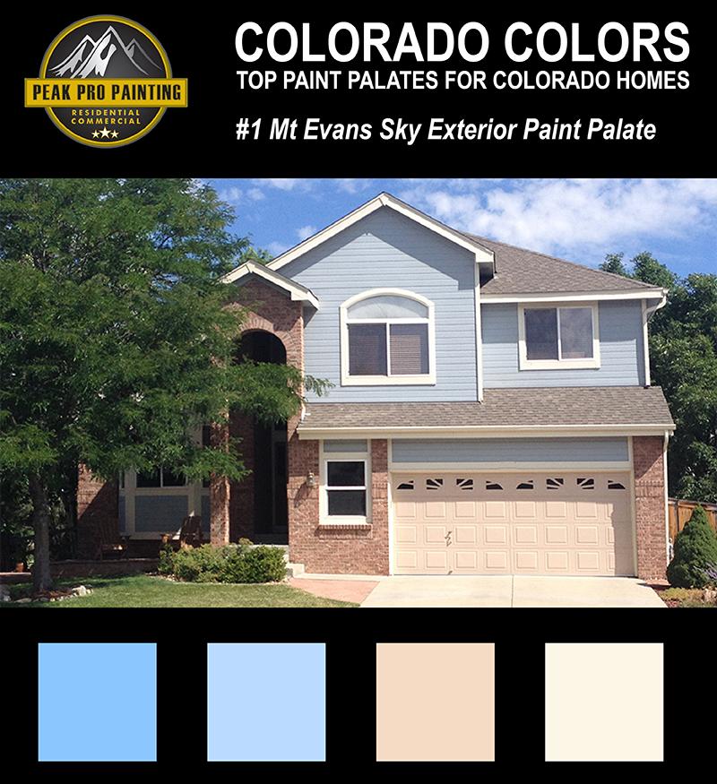 Top colorado home exterior color palates peak pro painting - Colorado springs exterior house painting paint ...