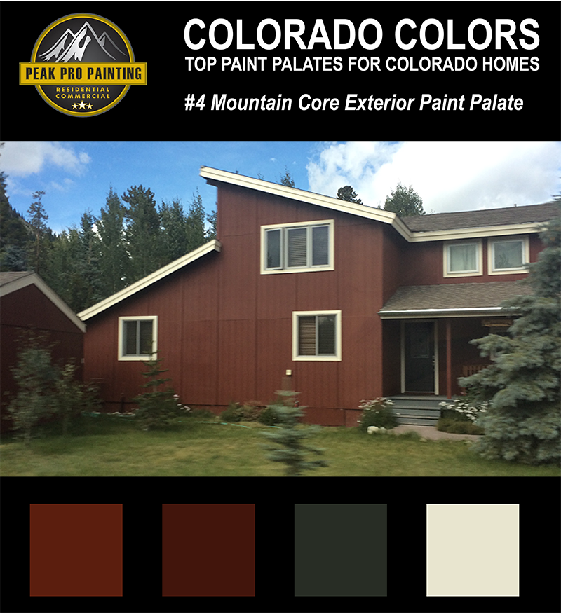Top Colorado Home Exterior Color Palates Peak Pro Painting