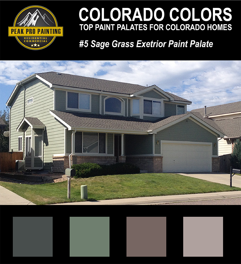 Cost Exterior Paint Job Painting Prices Professional: Top Colorado Home Exterior Color Palates