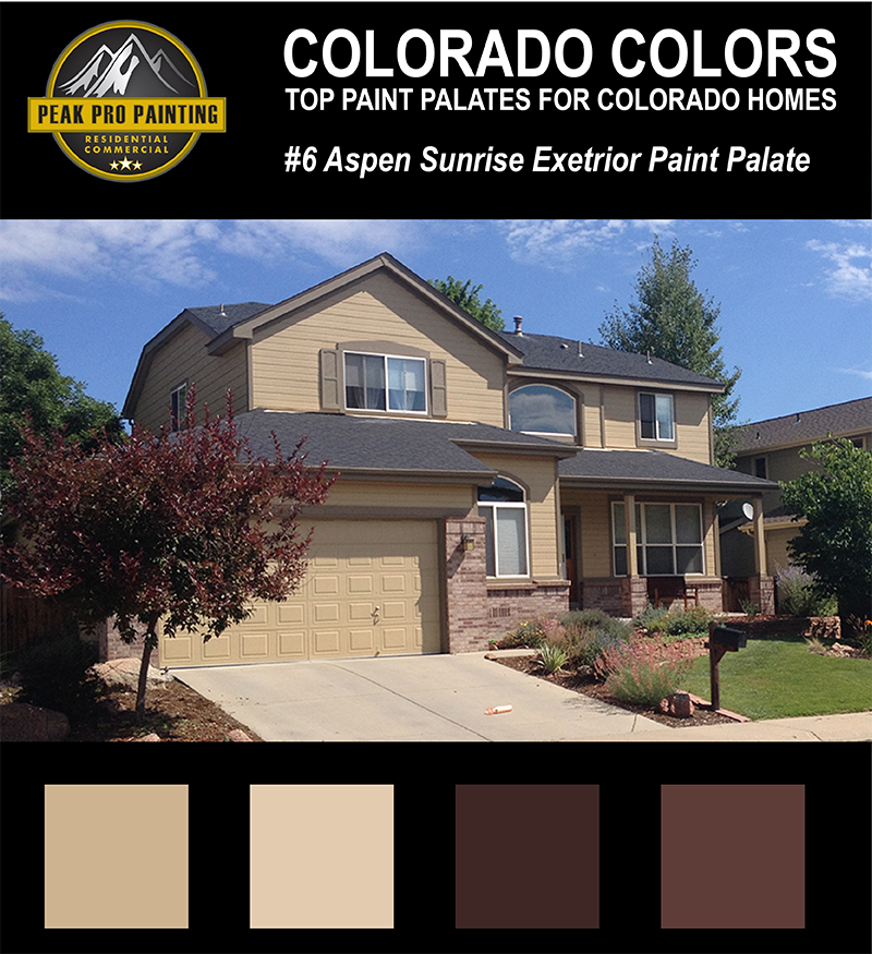Best Exterior Paint Colors: Top Colorado Home Exterior Color Palates