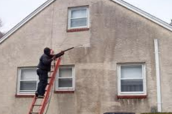 How to Power Wash a Stucco Home.