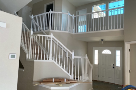 Interior Painting – Railings